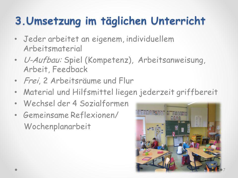 3.Umsetzung im täglichen Unterricht
