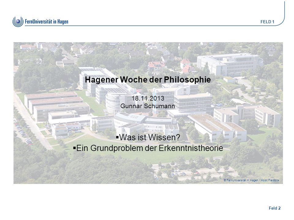 Hagener Woche der Philosophie 18.11.2013 Gunnar Schumann