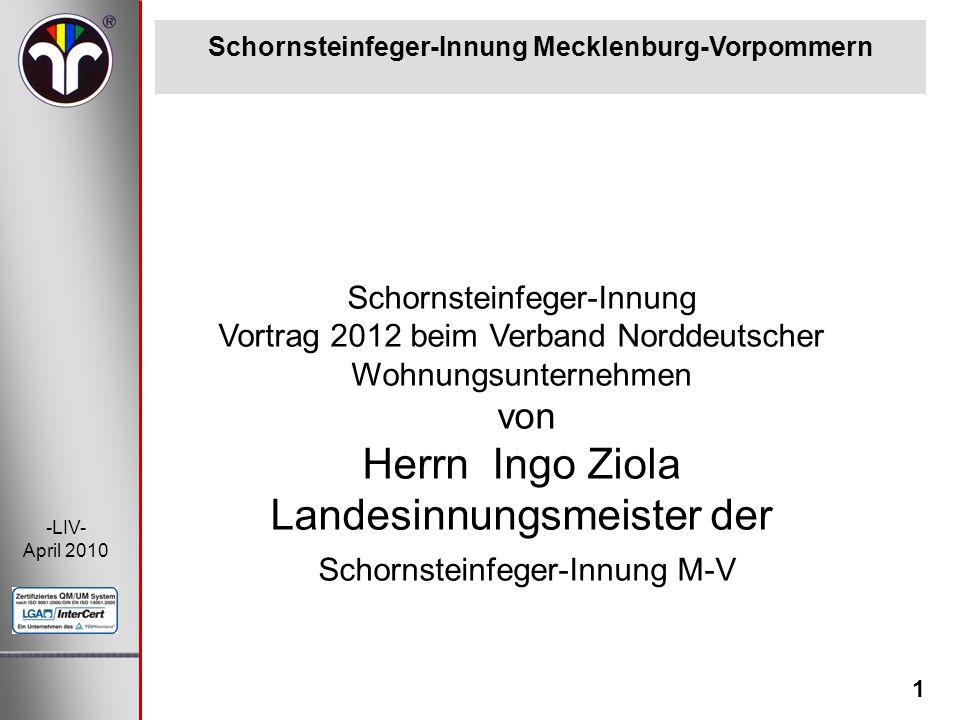 Schornsteinfeger-Innung Mecklenburg-Vorpommern
