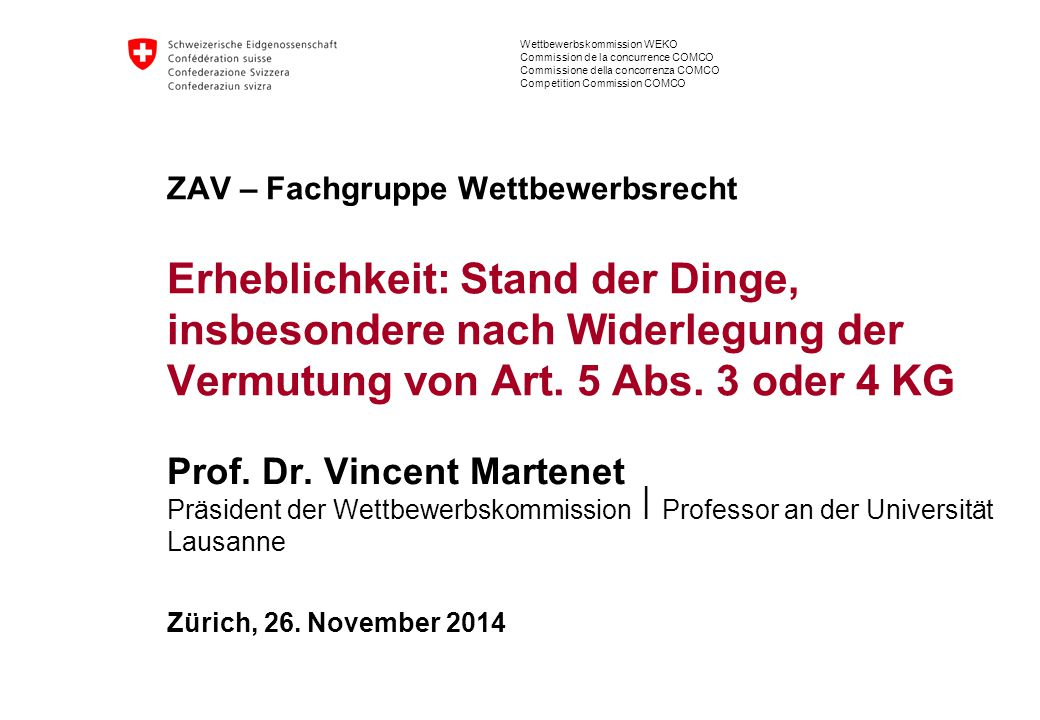 Prof. Dr. Vincent Martenet