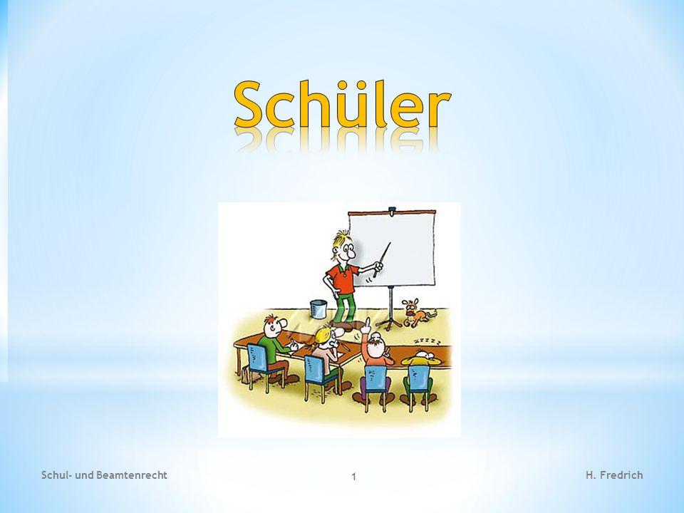 Schüler Schul- und Beamtenrecht H. Fredrich
