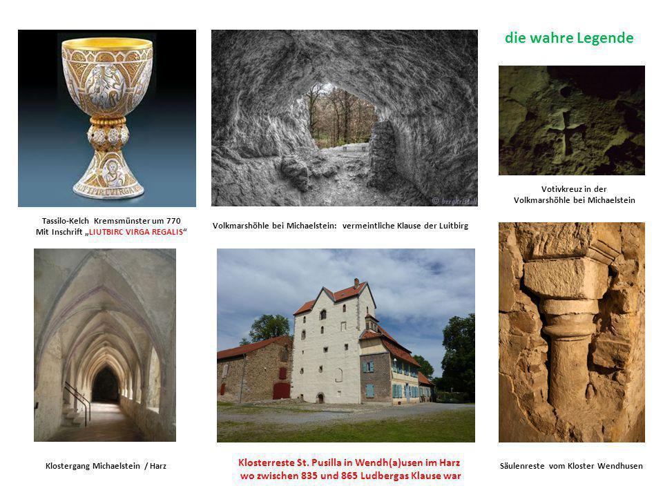 die wahre Legende Klosterreste St. Pusilla in Wendh(a)usen im Harz