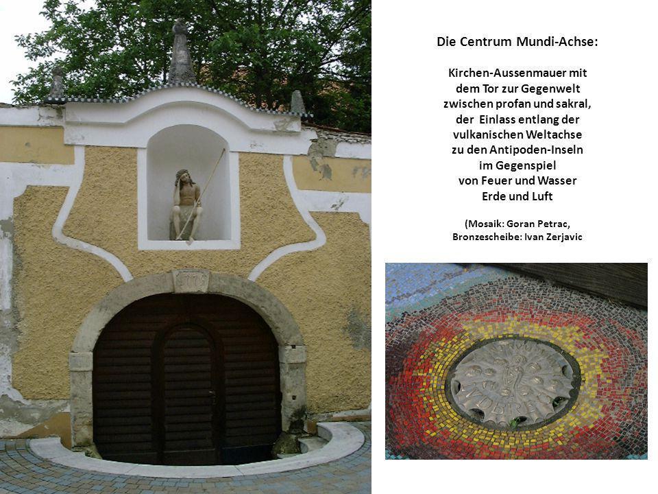 Die Centrum Mundi-Achse: