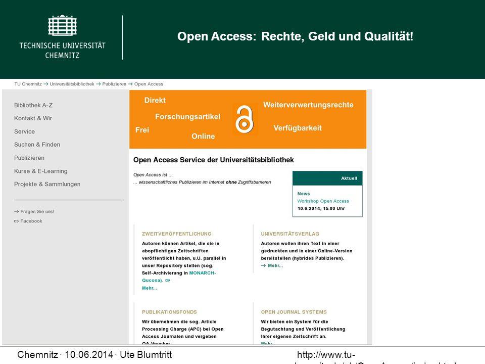 Services 2013 vorgestellt, Schwerpunkt Grundlagen OA und benötigte Rechte