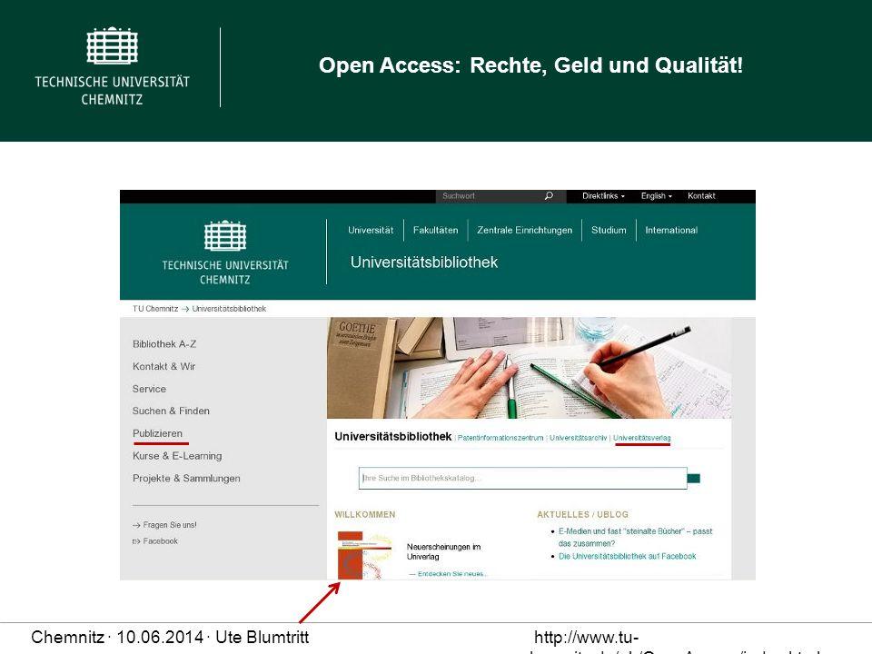 Neue Homepage UB