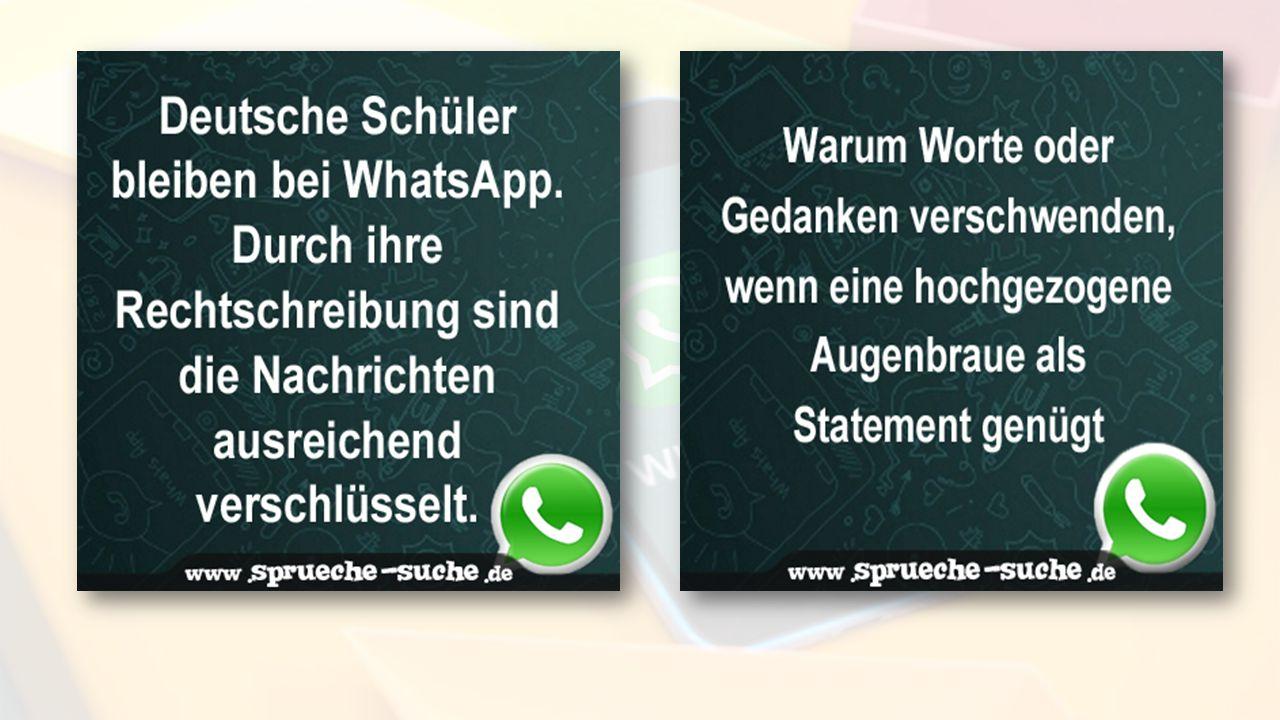 Impuls WhatsApp und Verkümmerung der deutschen Sprache