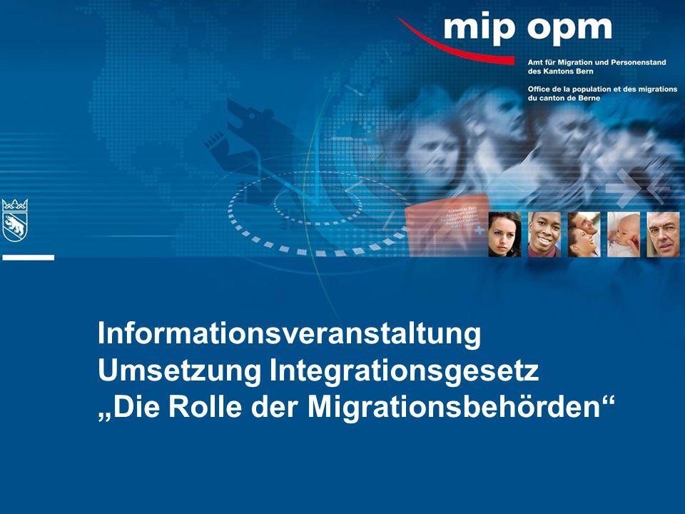Zuständigkeiten der Migrationsbehörden