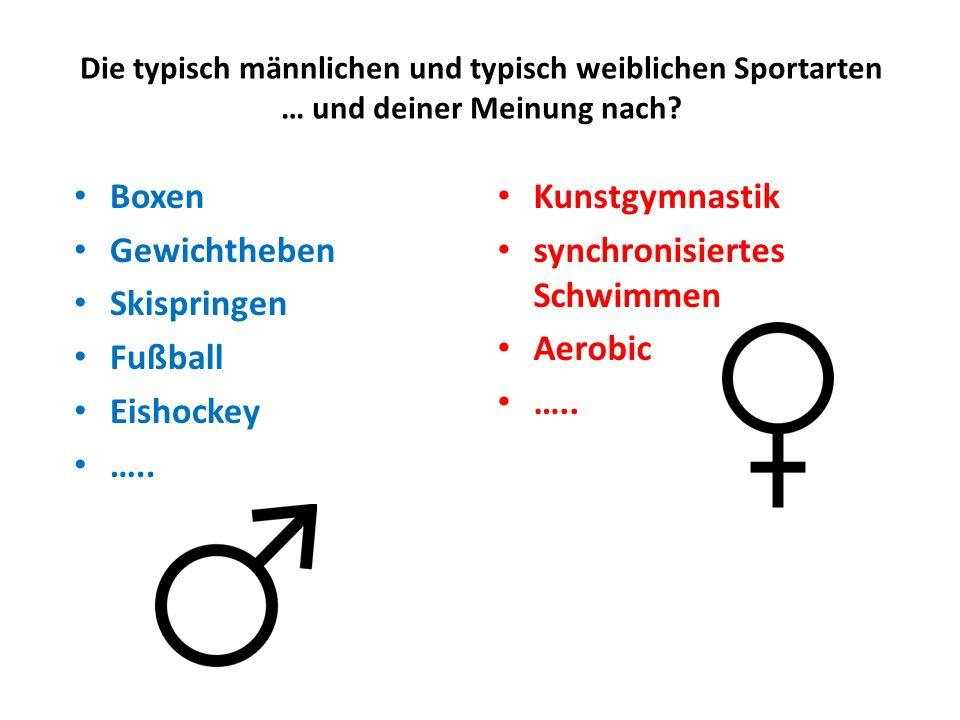 synchronisiertes Schwimmen Aerobic …..