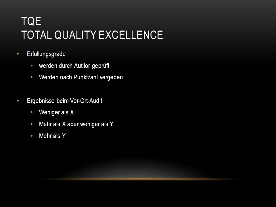 TQE Total Quality Excellence