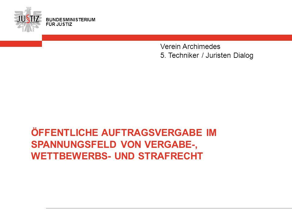 Verein Archimedes 5. Techniker / Juristen Dialog.