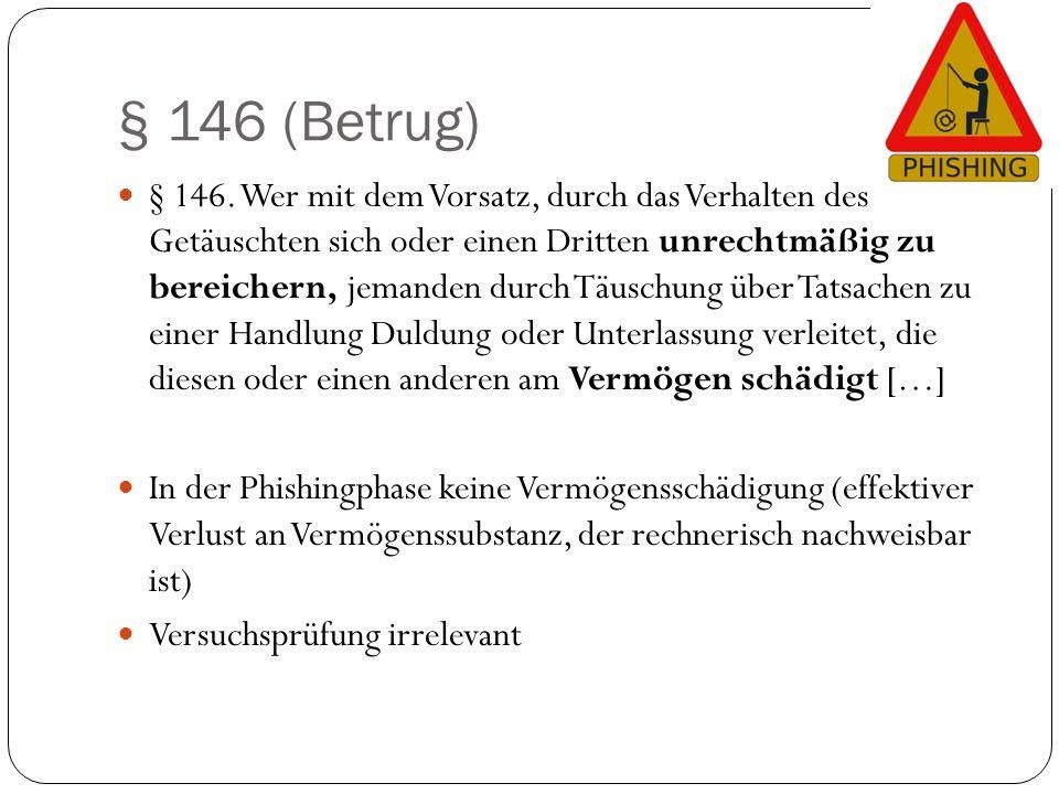 § 146 (Betrug)