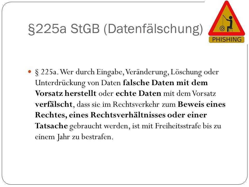§225a StGB (Datenfälschung)