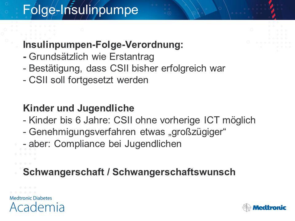 Folge-Insulinpumpe