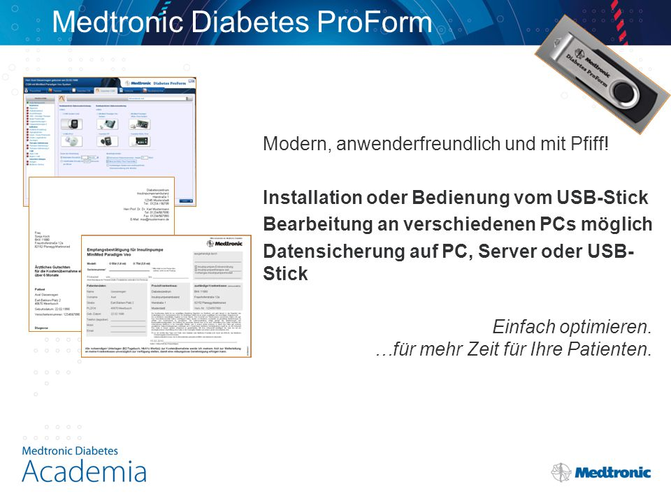 Medtronic Diabetes ProForm