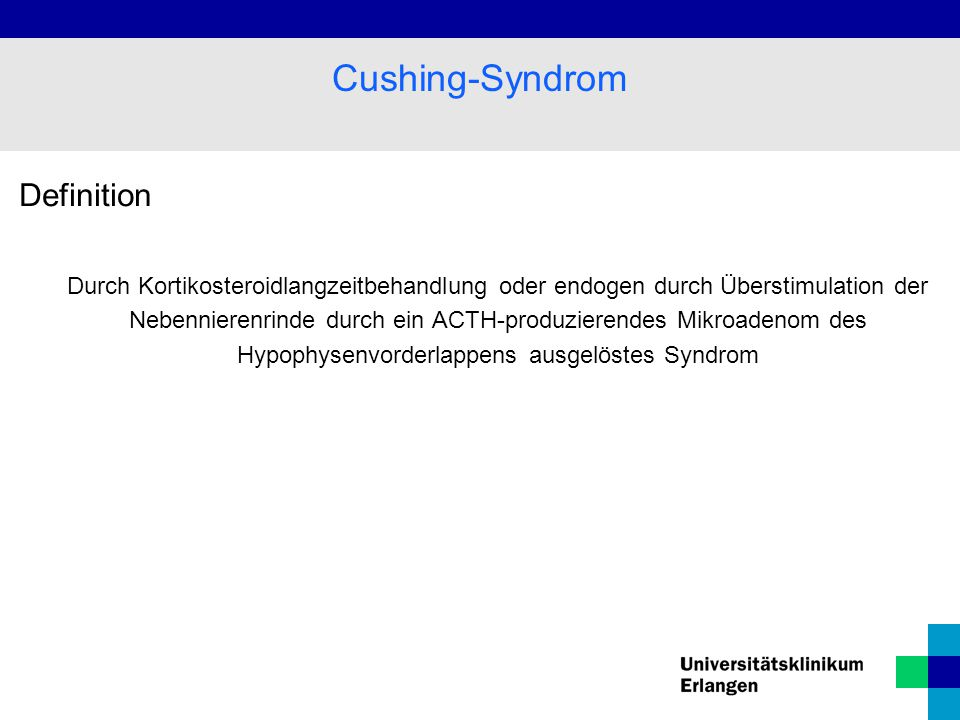 Cushing-Syndrom Definition