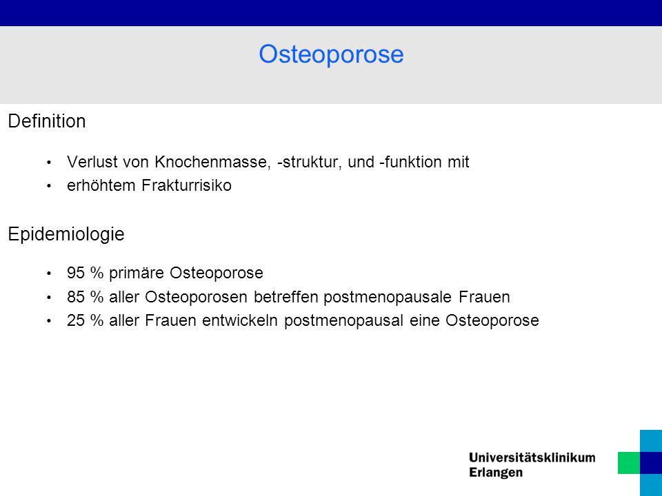 Osteoporose Definition Epidemiologie