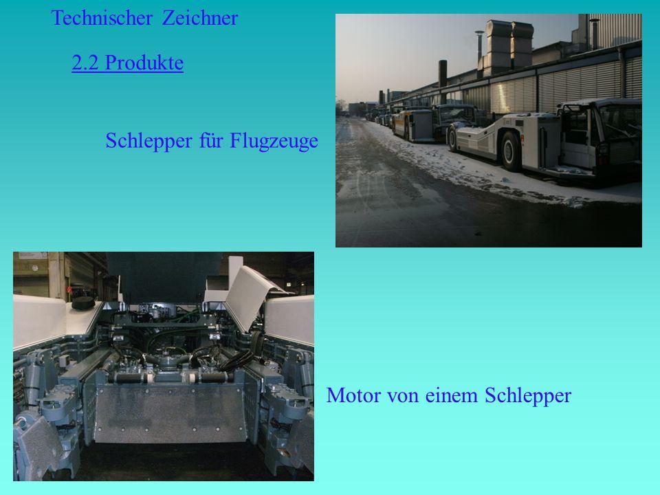 2.2 Produkte Schlepper für Flugzeuge Motor von einem Schlepper