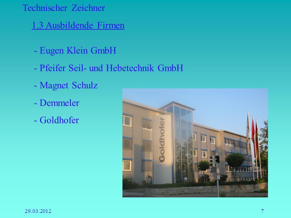 Pfeifer Seil- und Hebetechnik GmbH Magnet Schulz Demmeler Goldhofer