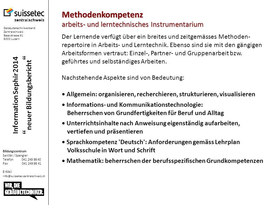Methodenkompetenz arbeits- und lerntechnisches Instrumentarium