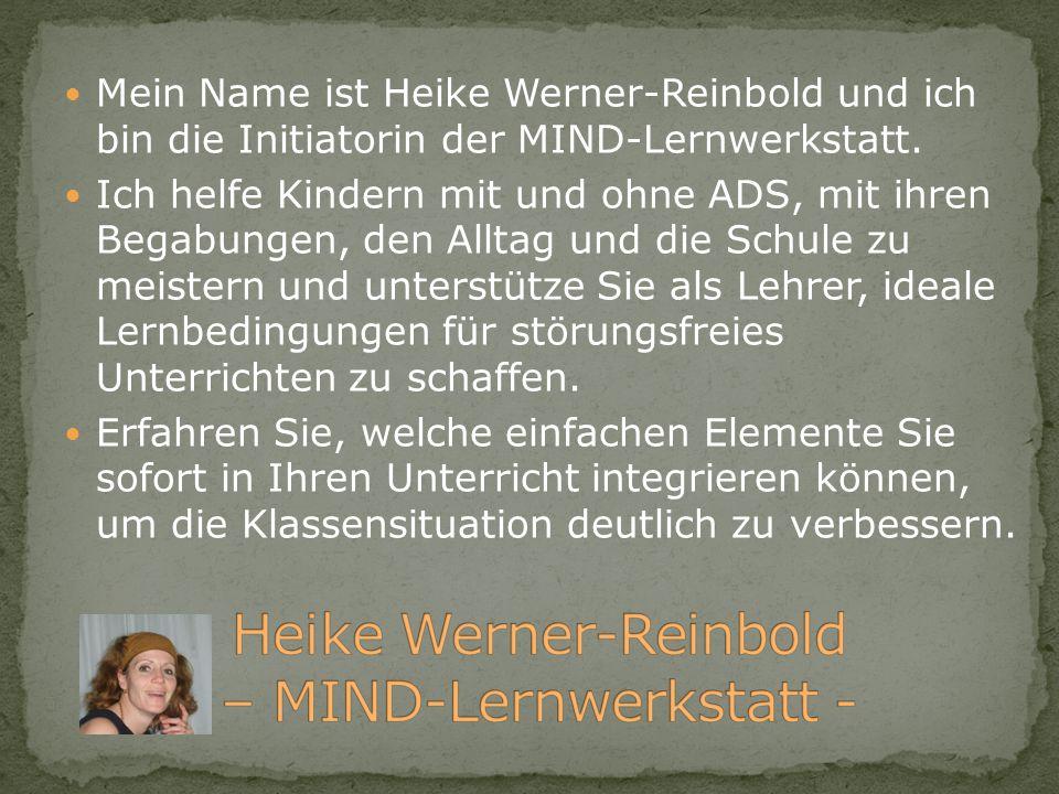 Heike Werner-Reinbold – MIND-Lernwerkstatt -