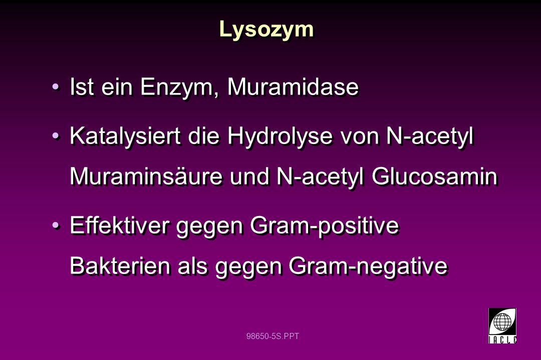 Ist ein Enzym, Muramidase