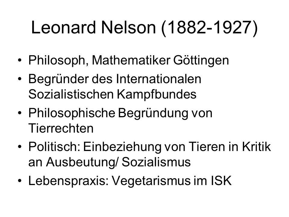 Leonard Nelson (1882-1927) Philosoph, Mathematiker Göttingen