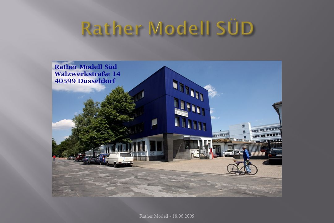 Rather Modell SÜD Rather Modell