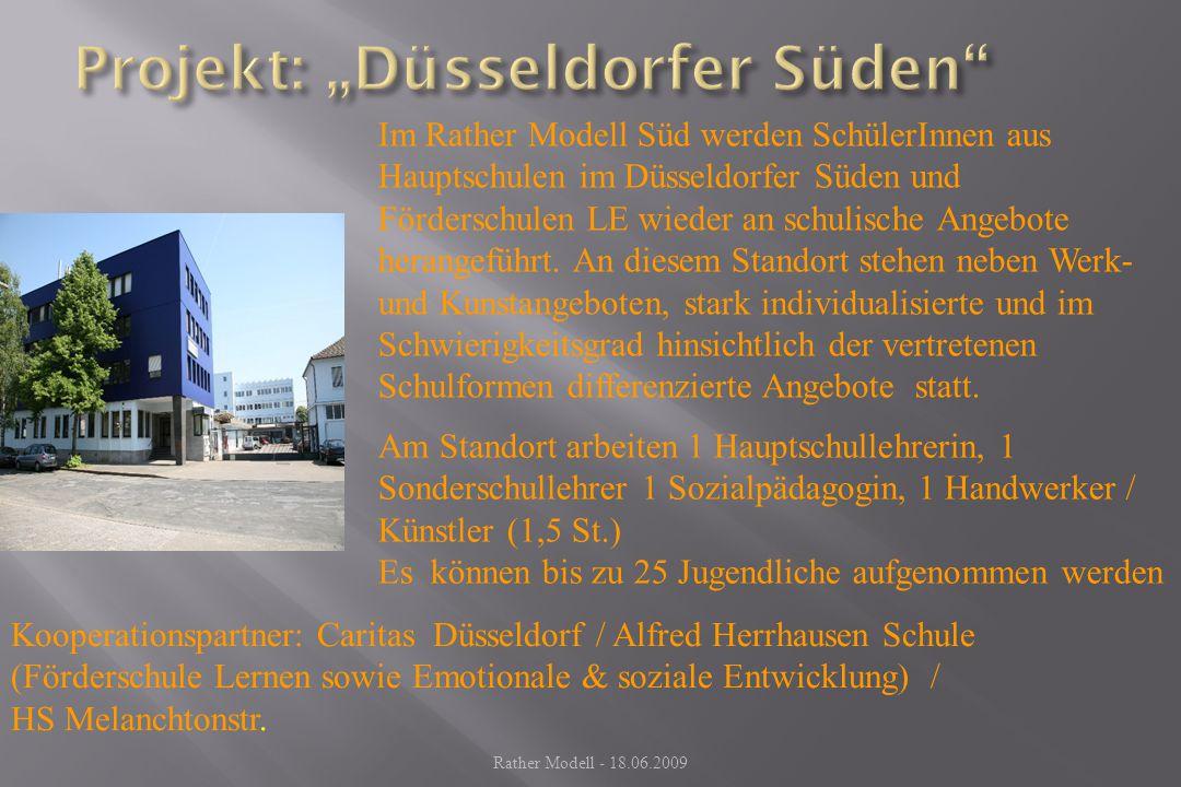 "Projekt: ""Düsseldorfer Süden"