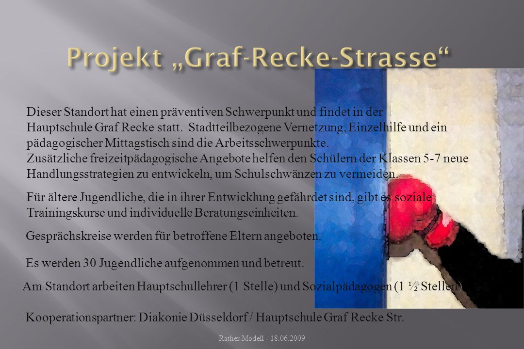 "Projekt ""Graf-Recke-Strasse"