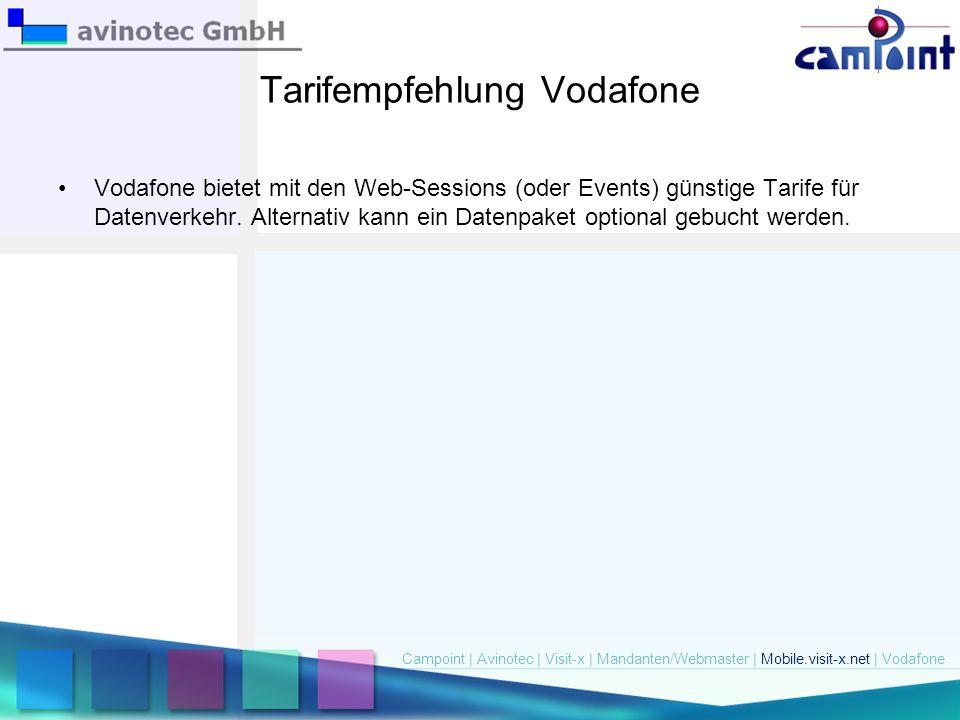 Tarifempfehlung Vodafone