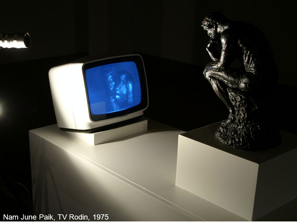 Nam June Paik, TV Rodin, 1975