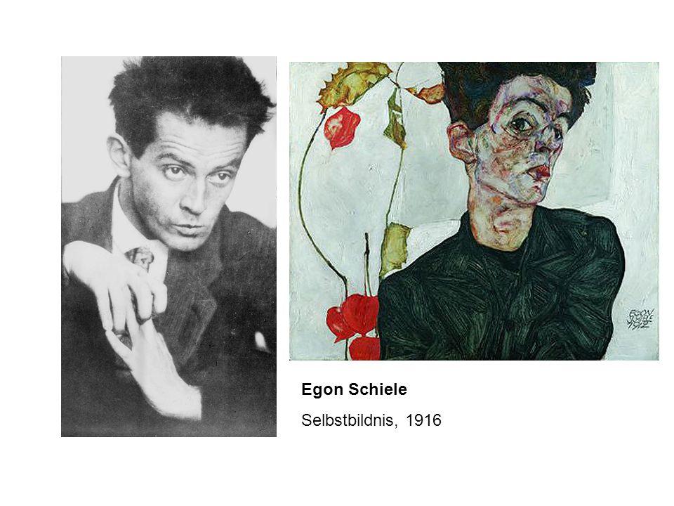 Egon Schiele Selbstbildnis, 1916