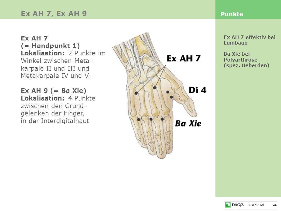 Ex AH 7, Ex AH 9 Ex AH 7 (= Handpunkt 1)