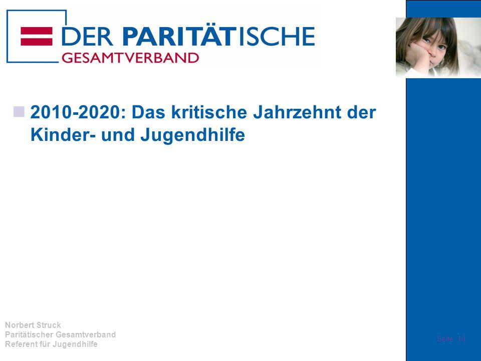 2010-2020: Das kritische Jahrzehnt der Kinder- und Jugendhilfe