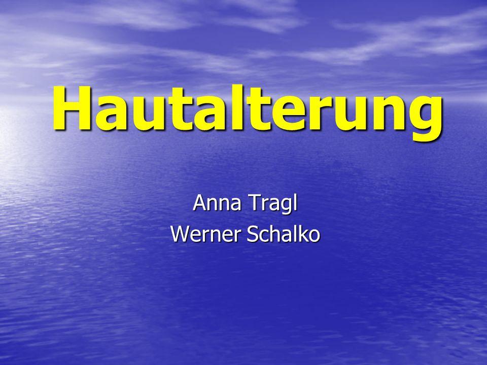 Anna Tragl Werner Schalko