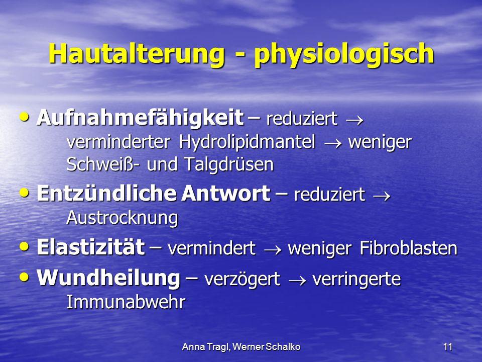 Hautalterung - physiologisch
