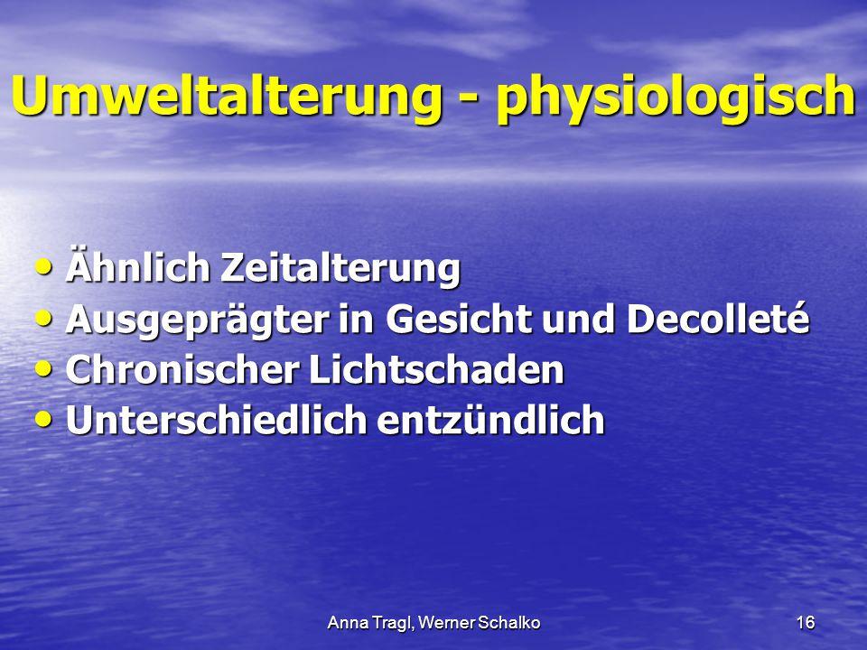 Umweltalterung - physiologisch
