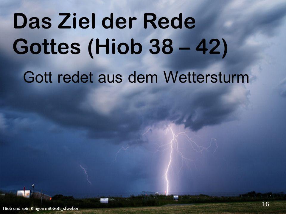 Gott redet aus dem Wettersturm