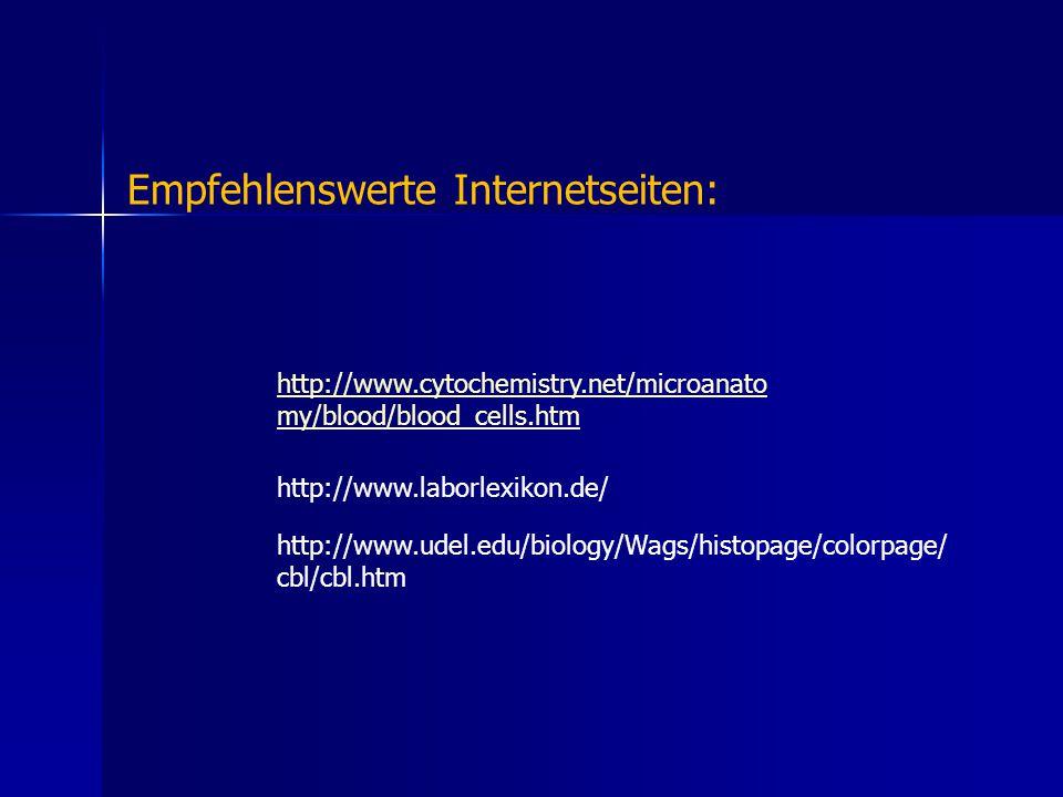 Empfehlenswerte Internetseiten: