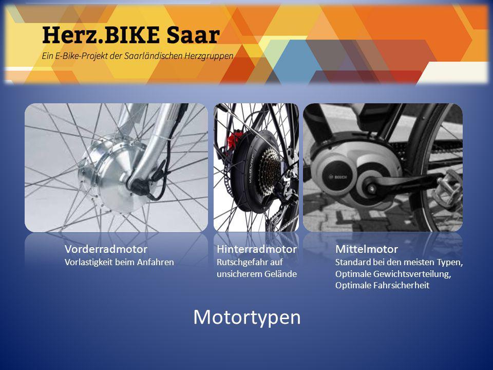 Herz.BIKE Saar Motortypen Vorderradmotor Hinterradmotor Mittelmotor