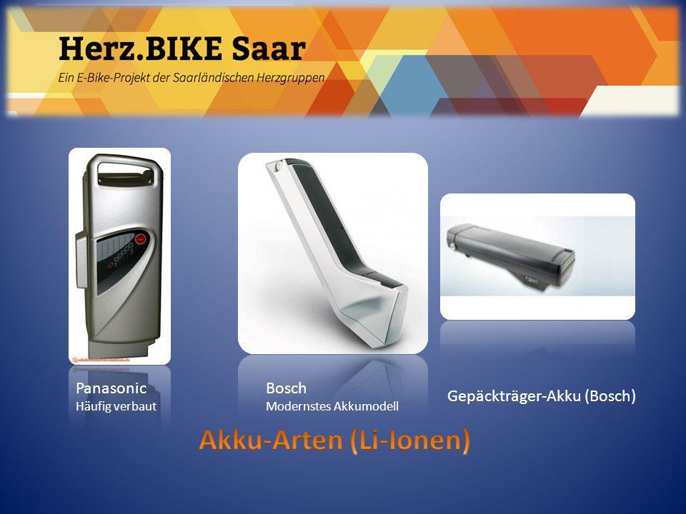 Herz.BIKE Saar Akku-Arten (Li-Ionen) Panasonic Bosch