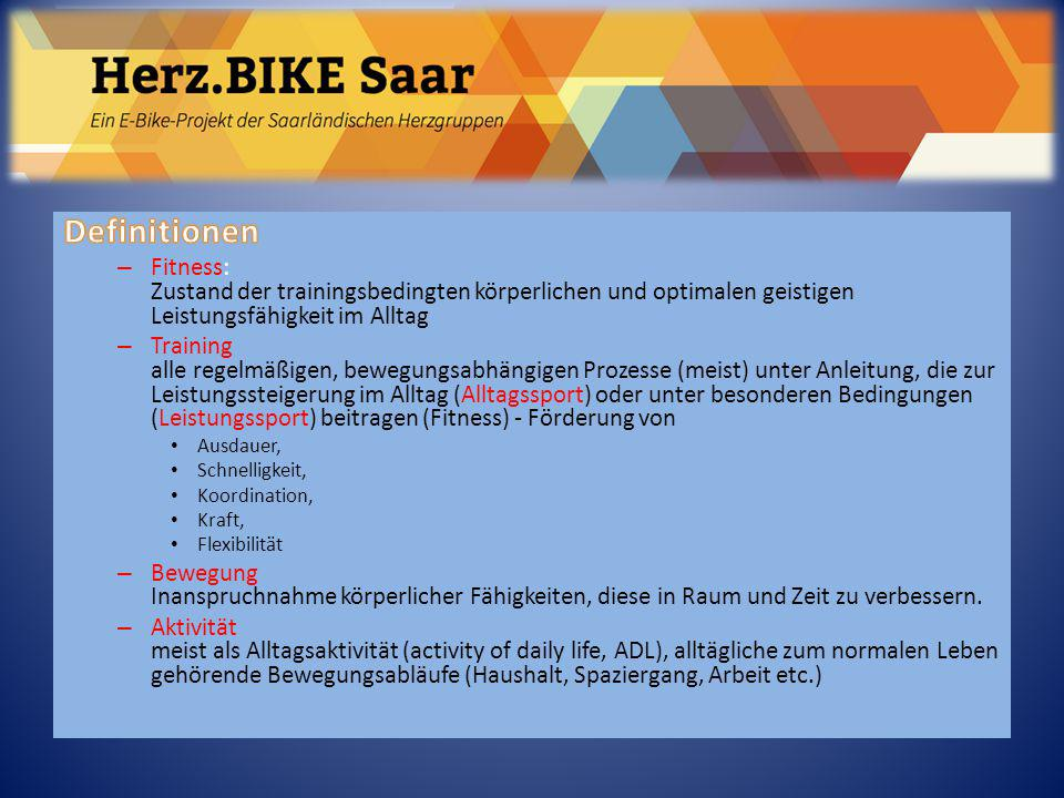 Herz.BIKE Saar Definitionen