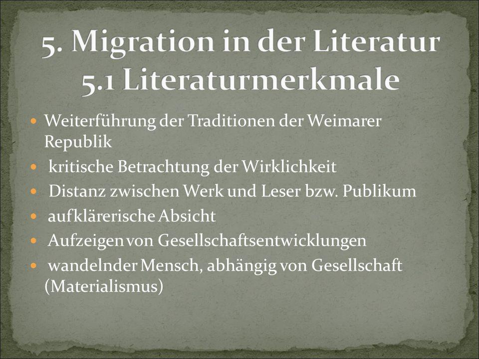 Weiterführung der Traditionen der Weimarer Republik
