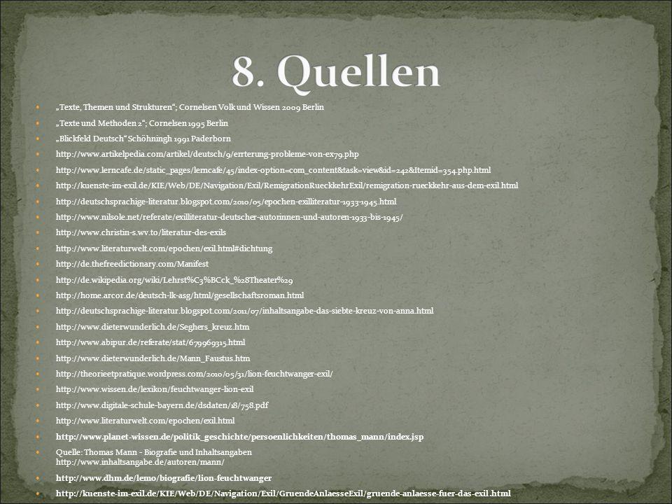 """""""Texte, Themen und Strukturen ; Cornelsen Volk und Wissen 2009 Berlin"""