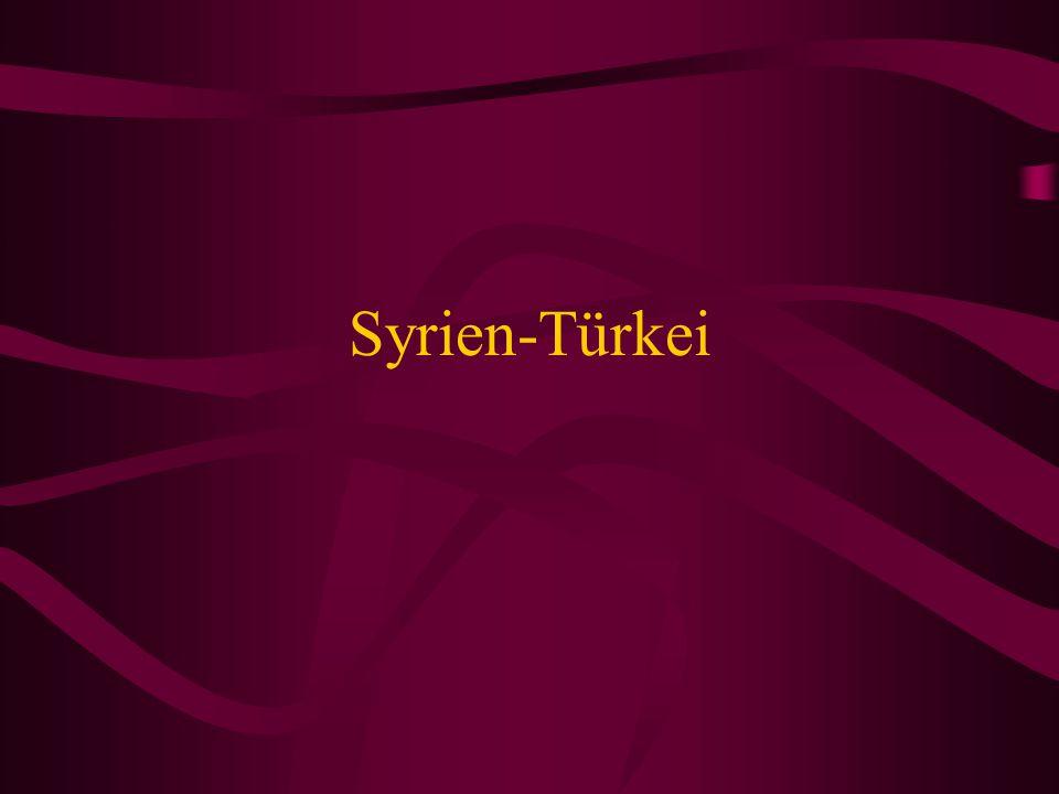 Syrien-Türkei