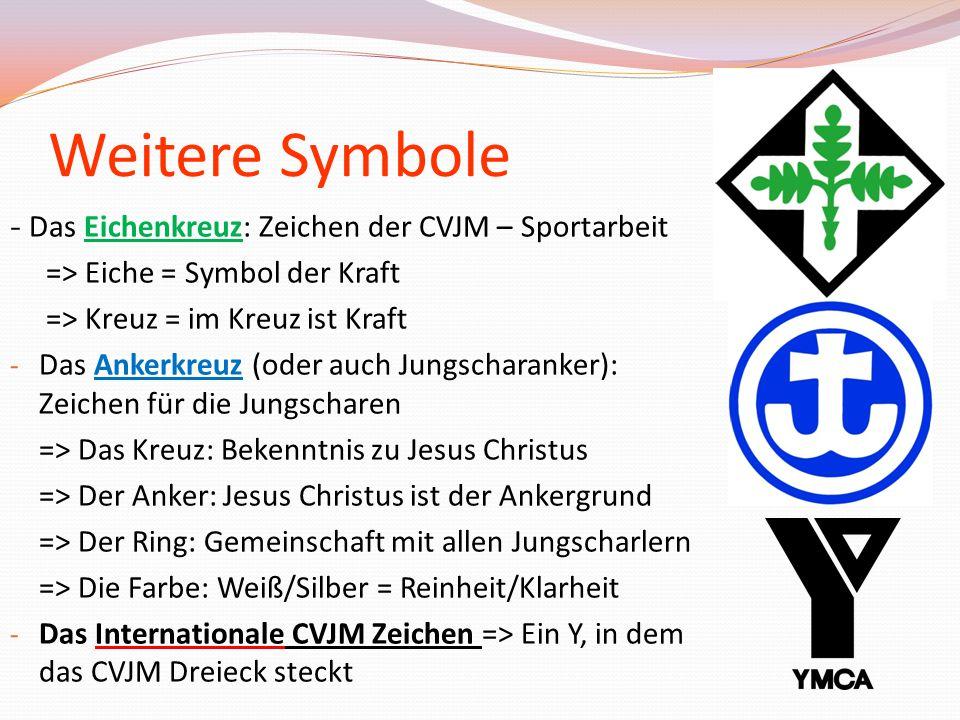 Weitere Symbole - Das Eichenkreuz: Zeichen der CVJM – Sportarbeit