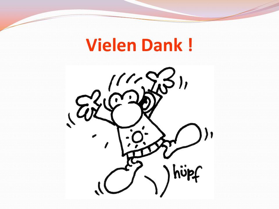 Vielen Dank ! Aktuell: Bernd Decker_06/2013