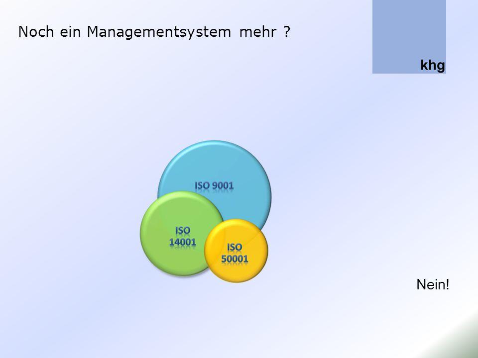 Noch ein Managementsystem mehr