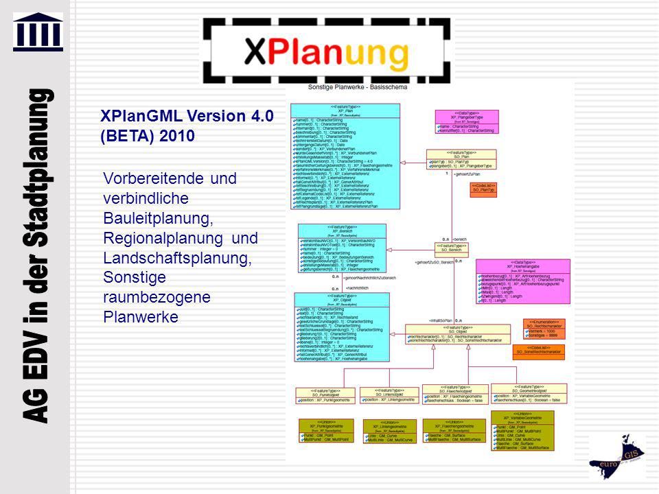 XPlanGML Version 4.0 (BETA) 2010
