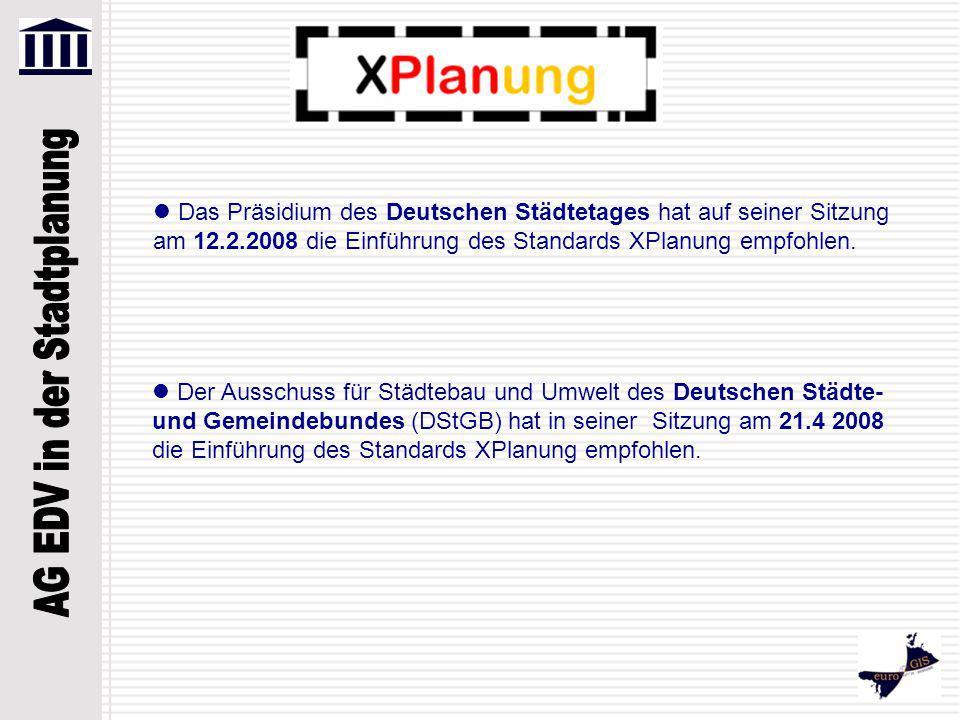  Das Präsidium des Deutschen Städtetages hat auf seiner Sitzung am 12